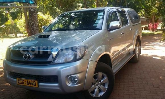 Buy Toyota Hilux Silver Car in Alexandra Park in Harare