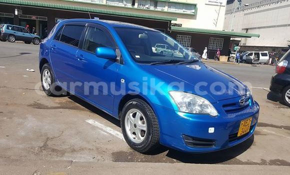 Buy Toyota Runx Blue Car in Alexandra Park in Harare