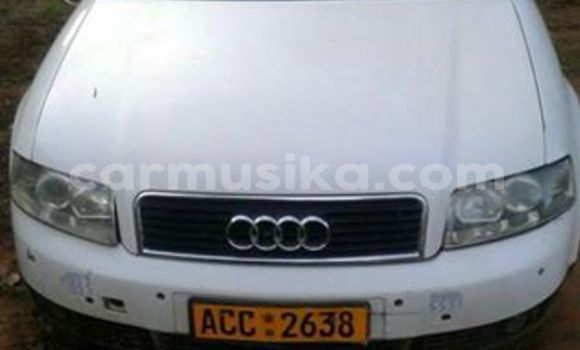 Buy Audi A4 White Car in Alexandra Park in Harare