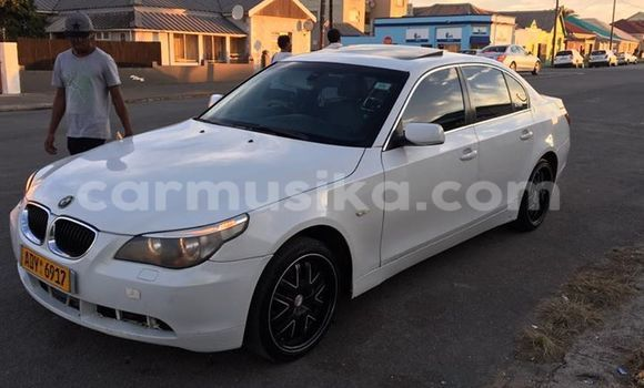 Buy BMW 5-Series White Car in Alexandra Park in Harare