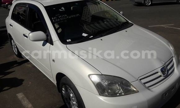 Buy Toyota Allex White Car in Alexandra Park in Harare